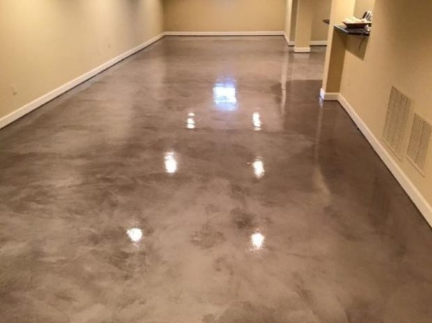 Metallic Epoxy Flooring in Tampa FL